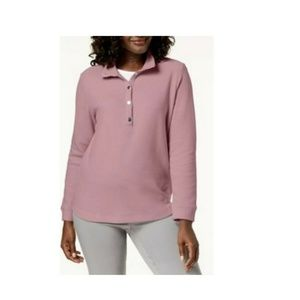 Sweaters - Karen Scott Women Petite PP Rose Pink Sweater 9C31